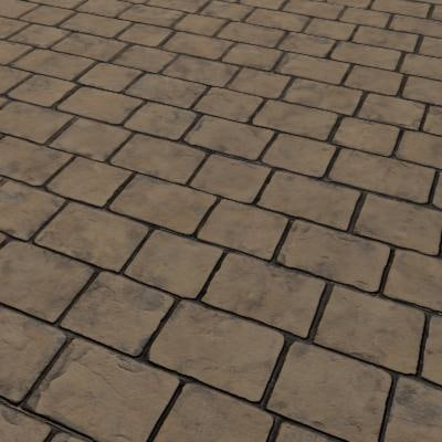 G356 concrete stone setts texture