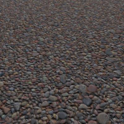 G295 shingle beach pebbles SRF