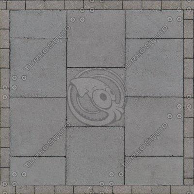 G114 sidewalk paving stones texture
