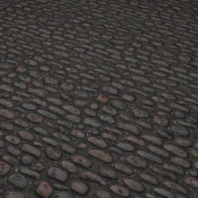 G306 cobbles medieval road SRF