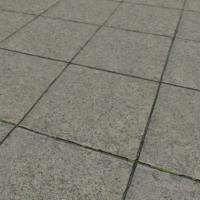 G387 paving stones bump map SRF