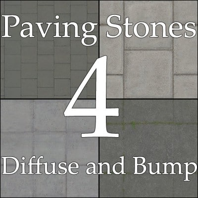 Paving stones collection 03
