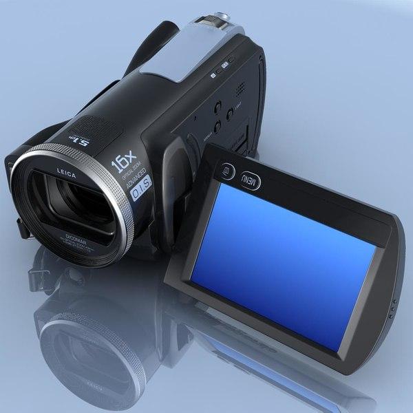 Camcorder.Panasonic HDC-SD20.FR