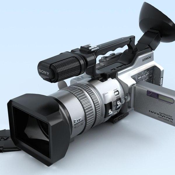 Camcorder. SONY DCR-VX2000e.FR