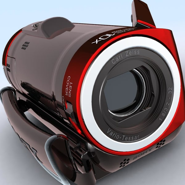 camcorder sony hdr-cx100er hd 3d max