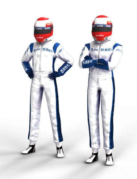 F1 Driver Nakajima