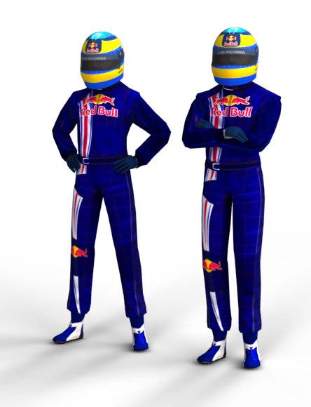 F1 Driver Sebastien Bourdais