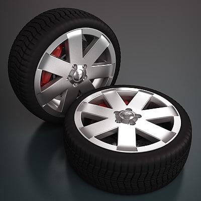 Audi Wheel - Rim and Tire
