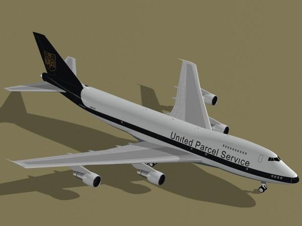 Boeing 747-200 F UPS