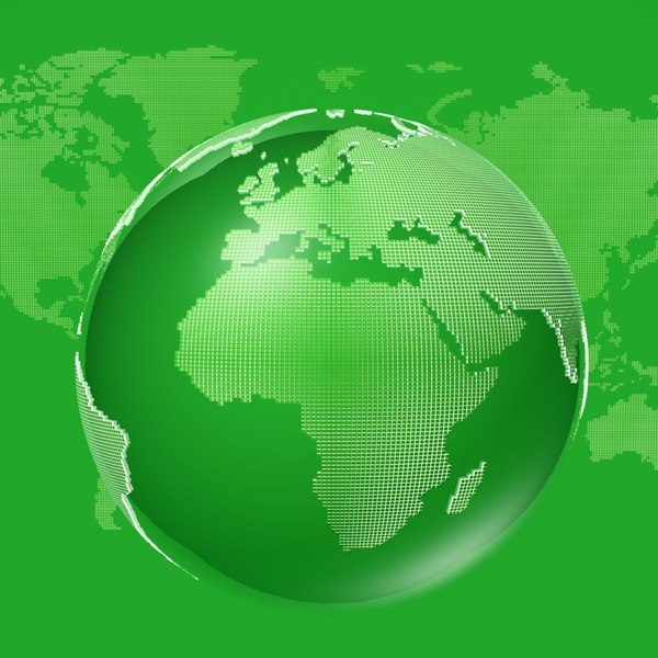 globe squares 3d max