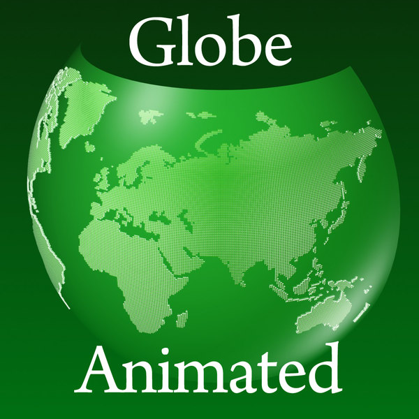 globe squares 3d model