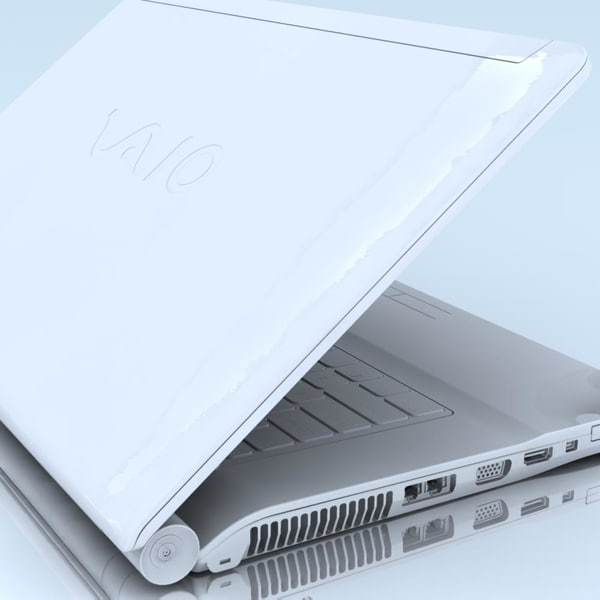 3d lwo notebook sony vgn-fw41mrh laptop - Notebook SONY Vaio VGN-FW41MRH MAX... by 3DLocker