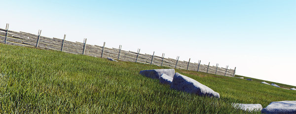 photoreal villa 3d max - villa grass tutorial... by mmvis