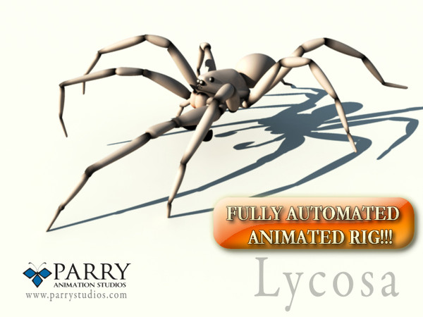 maya spider procedurally