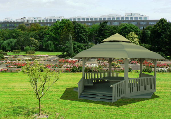 3ds garden house