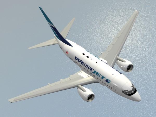 B 737-600 WestJet