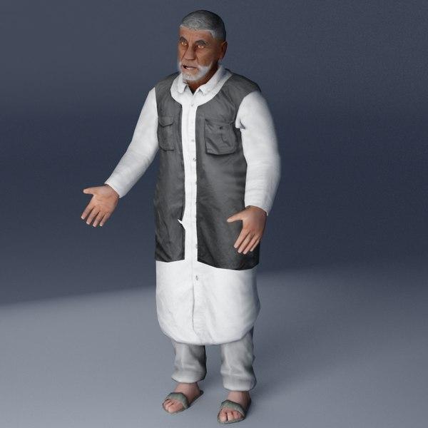 Village Elder 3DSMax