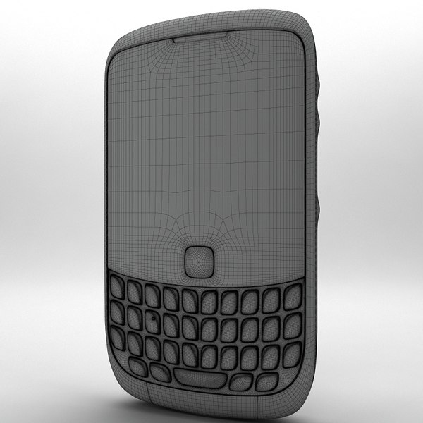 3d model blackberry curve 3g - BlackBerry Curve 3G 9330... by Artem_Shvetsov