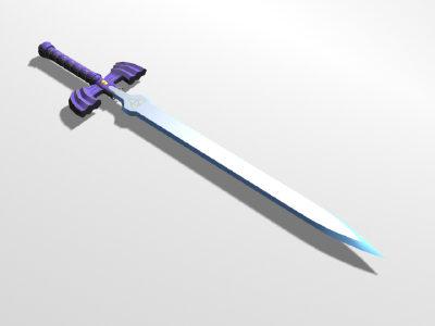 free master sword 3d model