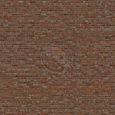 Brk019 red brick wall large area