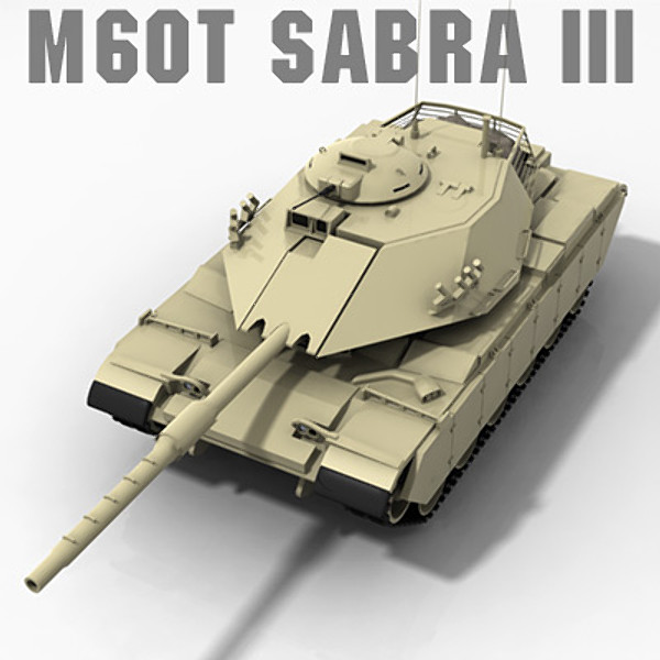 M60T Sabra III Main Battle Tank