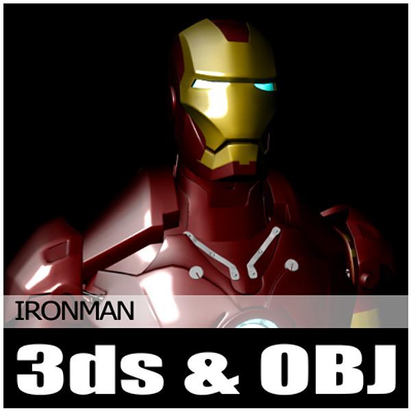 maya mesh iron man