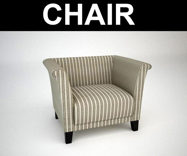3d max contemporary chair