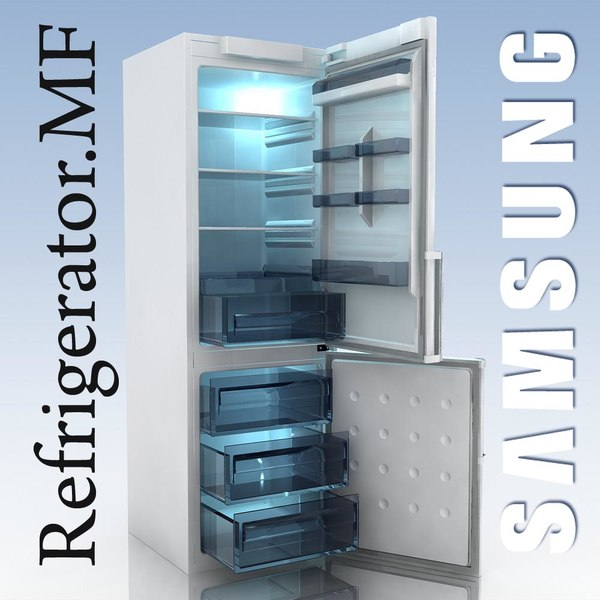 3d model fridge samsung rl 40