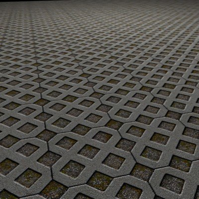 G094 turfstone block paving turf stone