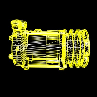 Custom Automotive Airconditioning Compressor