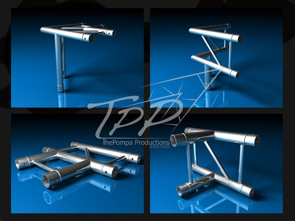 3d tpp-1 truss package fd model - TPP-1 Truss FD 32 Package... by ThePompa