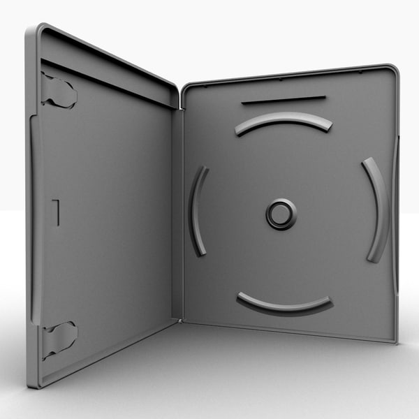 3ds max blu-ray disc case - Blu-Ray case... by sweiry_tv