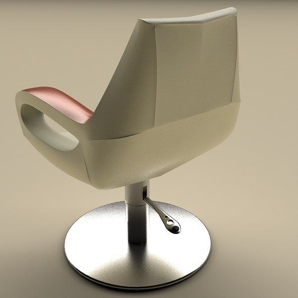 maya shampoo chair modern - Modern Beauty Salon Chair Set... by sss3D