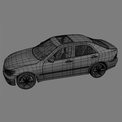 3d model of lexus is400 - lexus_is400... by digitalmedia3d