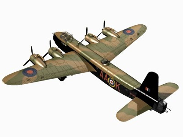 3d short stirling mkiii model - Short Stirling MKIII... by pbratt