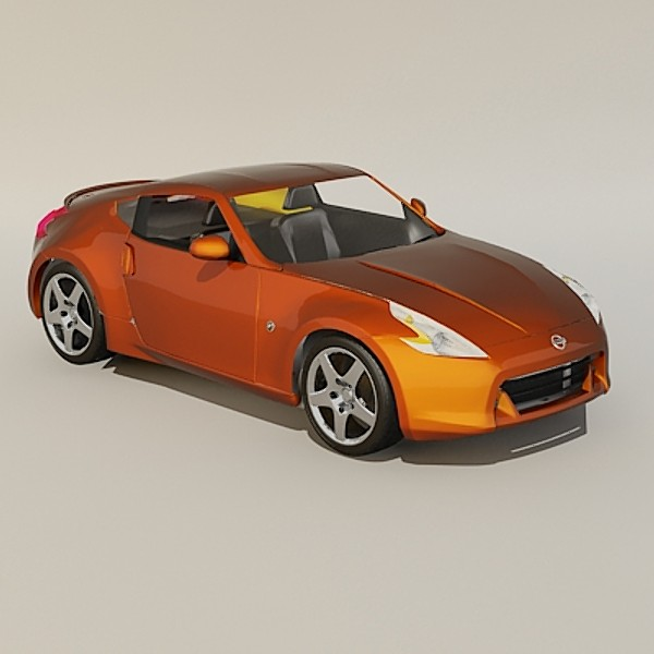 3d model 2010 nissan 370z z - Nissan 370z 2010... by 3d_addict