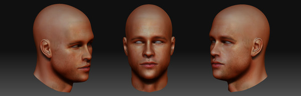 free brad pitt 3d model - Brad Pitt... by studio Lab