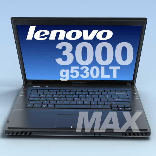 3d model notebook lenovo 3000 g530