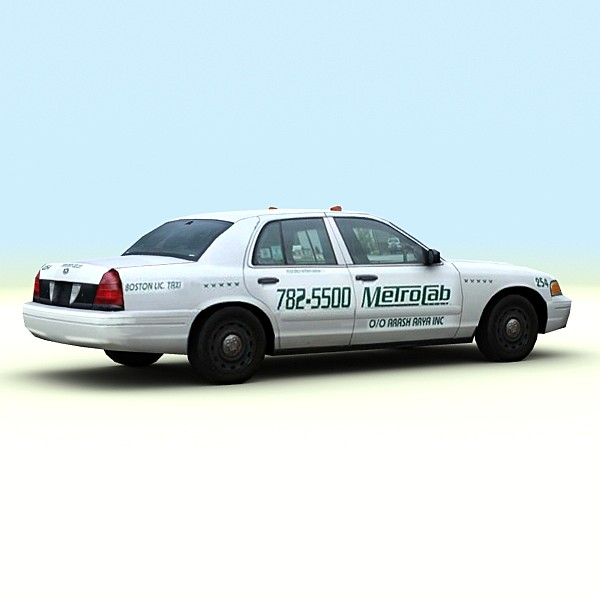 2004 crown victoria usa 3d max - 2004 Ford Crown Victoria USA Taxi... by be fast