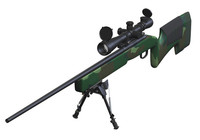 WSH M40A3 Sniper Rifle 3ds
