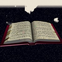free bound book 3d model