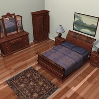 Sleigh_bed_set_01.zip