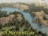 Terrain Forest Lake