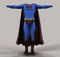 3d superman returns model
