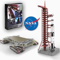 Saturn V Transport and Liftoff
