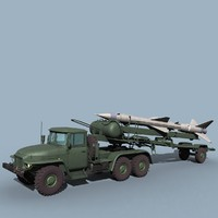 Ural-375/SA-2 loader
