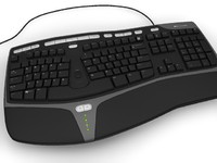 Microsoft Natural Ergonomic Keyboard KB4000