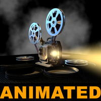 old projector updated 3d model