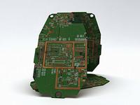 generic circuit board 3d model