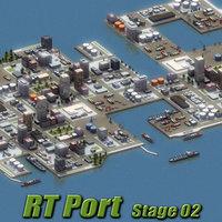 RT Port-St02 3D